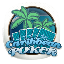 Caribbean Poker card-and-table