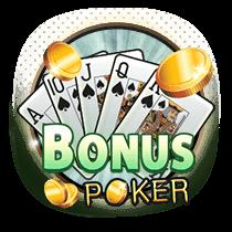 Bonus Poker card-and-table