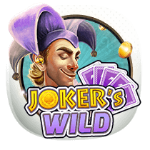 Joker's Wild card-and-table