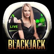 Live Sapphire Blackjack - live