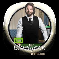 Live Blackjack White Gold