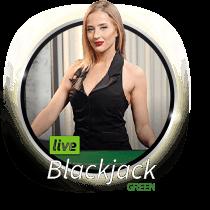 Live Blackjack Green