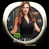 Live Blackjack Black Gold