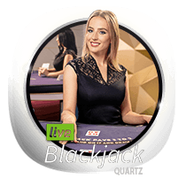 Live Blackjack Quartz