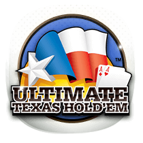 Ultimate Texas Holdem card-and-table